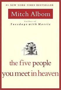 Another great read you should pick up. All of Mitch Albom's books are amazing.