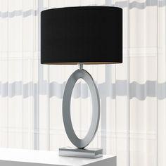 Found it at Wayfair.co.uk - 72cm Table Lamp Hallway Console, White Decor, Drum Shade, Modern, Wall Lights, Living Room, Lighting, Elegant, Glass