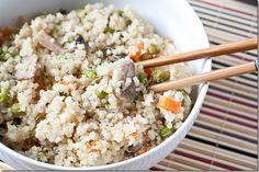 Miso Mushroom Quinoa for when I'm eating grains again