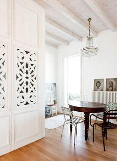 Un apartamento de estilo #bohemio y #vintage #hogarhabitissimo
