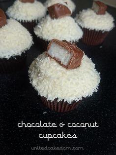 United Cakedom: Bounty Cupcakes - A Birthday Treat!