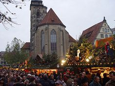 Christmas Market - Stuttgart, Germany
