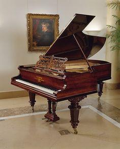 Grand Piano ~ Carl Bechstein ~ Berlin, Germany 1893