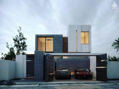 Minimalist House 2 Designed by Creasa