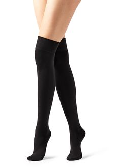 Shop Basic and Patterned Women's Tall Socks on Calzedonia Knee High Stockings, Lady Stockings, Stockings Lingerie, Knee High Socks, Moisture Wicking Socks, T Shirt Crop Top, Black Socks, Legging, My Socks