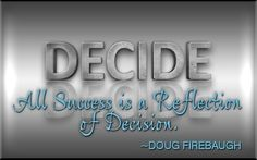 The Power of Decision - The ONE single factor that determines all success in a home business... food personal-development personal-development personal-development