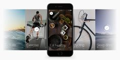 Screenshot of Today iOS app UI design and photo gallery of app cover images.
