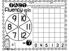 FACT FLUENCY PACK - TeachersPayTeachers.com Addition Facts, Addition And Subtraction, Subtraction Kindergarten, Math, Packing, Classroom, Bag Packaging, Class Room, Math Resources