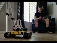 VR Telepresence Tank from Raspberry Pi, Google Cardboard, and Xbox Controller | Hackaday