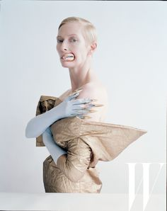 Tilda Swinton and W Team Up for Incredible Surrealist Editorial