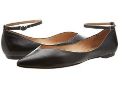Belle by Sigerson Morrison Sable Black Leather - Zappos Couture