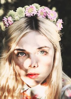 floral crown for bridesmaids or flower girls #boho #bohemian #bohobride