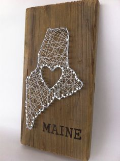 Maine Love Small by nailitart on Etsy, $50.00
