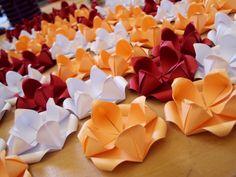~ forminhas de doces * origami ~ #bodasdepapel