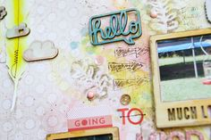 Colourful Gelatos:: A Scrapbook Tutorial by Patricia Roebuck