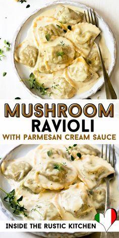 Italian Pasta Recipes Authentic, Italian Soup Recipes, Vegetarian Recipes, Dinner Recipes, Italian Foods, Healthy Recipes, Lotsa Pasta, Homemade Pasta, Garlic Parmesan