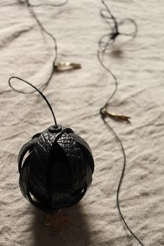 Crocodile Leather Ball Ornament - IRRE