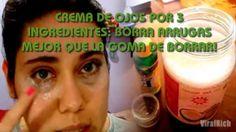 CREMA DE OJOS POR 3 INGREDIENTES: BORRA ARRUGAS MEJOR QUE LA GOMA DE BORRAR!