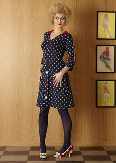 100% nice prikket kjole fra Margot Jenny Ellie MWMwear