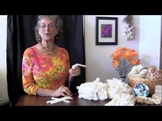 Spinning Cotton on a Takli Spindle - YouTube