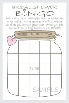 Diy bridal shower games bingo cards 28 Ideas for 2019 Inexpensive Bridal Shower Gifts, Personalized Bridal Shower Gifts, Bridal Shower Gifts For Bride, Bridal Shower Wine, Bridal Showers, Bridal Shower Favors Diy, Wedding Favors, Wedding Venues, Shadow Box