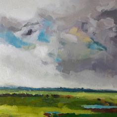 "Mark Lawton-Browne on Instagram: ""The Weather Had Turned Mark Lawton-Browne Oil on Canvas #marklawtonvrowne #oilpainting #landscape"""