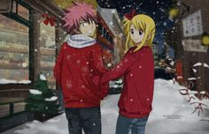 Fairy Tail, Natsu and Lucy
