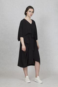 ONEDAY SS17 square dress black