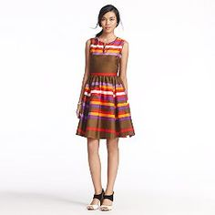 love kate spade...striped kerrigan dress