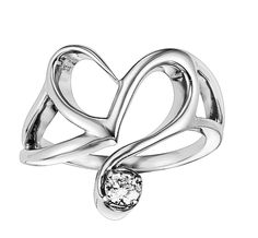 Steal Her Heart ring with diamond