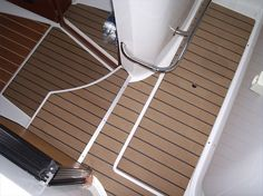 Eco teak synthetic wpc boat deck pvc synthetic teak for Cheap decking boards uk