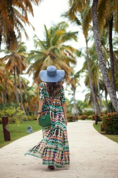 summer outfit in Punta Cana
