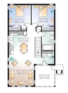 Square Foot In Law Apartment Floor Plan In Law Apartment