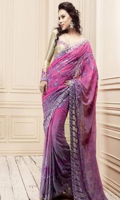 Sari  - I love the fabric, design and colors of the sari itself