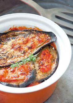 Forme Recette : Les aubergines Parmigiana, version légère