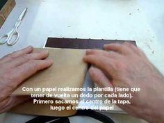 Encuadernación artesanal: Colocación de puntas