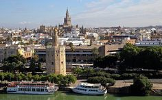 #Panorámica de #Sevilla - #SevillaEsDeCine.