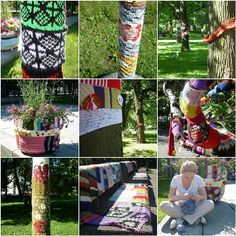 Yarnbombing in Estonia