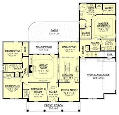 Wilkshire Traditional House Plan