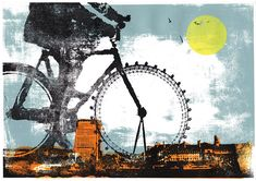 See Katie Edwards' latest screenprints from 27 March to 8 April 2017 at The Coningsby Gallery.
