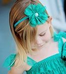 Vintage Lace Flower Headband | Shabby Chic Headband | Lace Flower Headband favorite place to buy little girl accessories