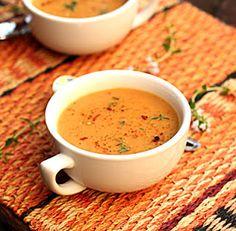 potato carrot leek soup!