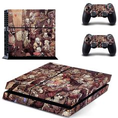 the witcher wild hunt ps4 skin decal for console and controllers