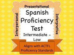 This assessment can be used in a variety of ways: 1. As an exit test or final exam for Spanish 3. 2. As an entrance exam for Spanish 4. 3. As a placement exam for students newly entering your language program from private or out of state institutions. 4. As a progress indicator given to students at the beginning, middle, and end of the school year to demonstrate growth. 5. As smaller, individual assessments or activities given throughout the course of the school year.