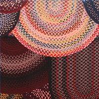 DIY rag rug.