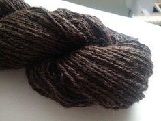 Irische Wolle 115g handgesponnen Trachtenwolle von Atelier van der Valk auf DaWanda.com