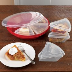 Pie Keeper with Slice Savers, 8 piece