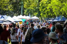 The Bellingen Markets - NSW, Australia