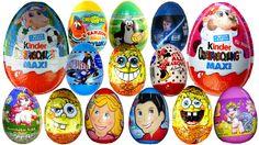 Открываем 35 Киндер Сюрпризов, 2 Макси Kinder Surprise, что же там внутри ? http://youtu.be/R6KWUaiL33E  #carstoy   kinder surprise, surprise egg kinder, eggs surprise, kinder eggs, Kinder Surprise Eggs, Surprise Eggs,  Disney Pixar Cars surprise, Peppa Pig surprise, Spongebob surprise, Dora The Explorer surprise,