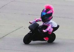 Girls Pink Motorcycle Helmets
